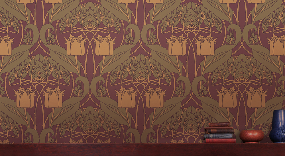 Craftsman Style Wallpaper Arts Crafts Movement Bradbury Bradbury