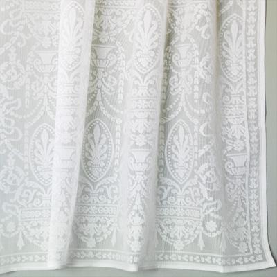 Cotton Lace Curtains Victorian Era