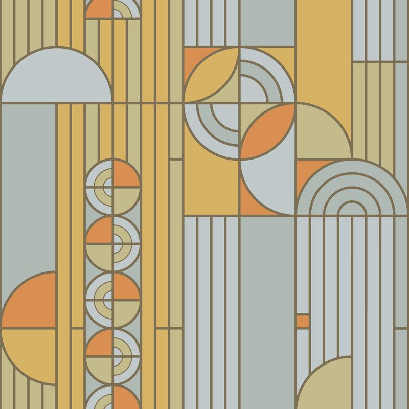 the frank lloyd wright design collection wallpapers by bradbury bradbury. Black Bedroom Furniture Sets. Home Design Ideas